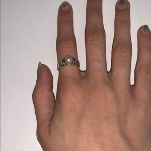 James Avery Jewelry - James Avery Pearl Scroll Ring